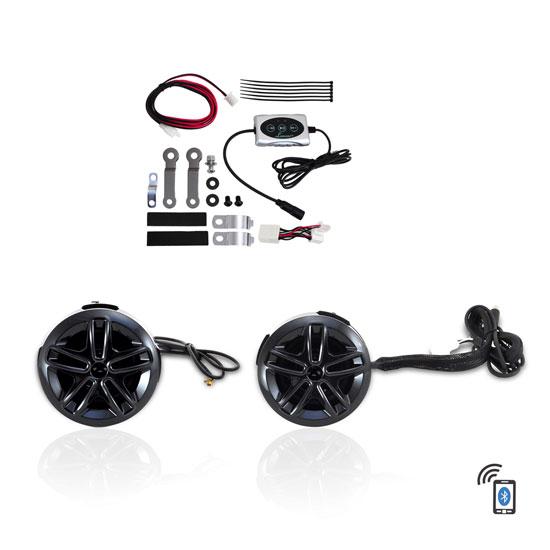 Lanzar OPTIAT94A Opti-Drive Weatherproof Dual Bluetooth Speaker System