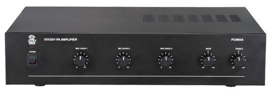 Pyle-Home PCM60A 100 Watt Power Amplifier w/ 25 & 70 Volt Output