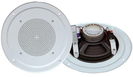 Pyle-Home PDICS54 5'' Full Range In Ceiling Speaker System W/Transformer