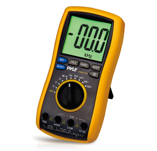 Pyle-Meters PDMT38 High Performance Auto Polarization Lcd Display Multimeter