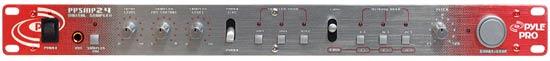 "Pyle Pro Home DJ 19"" Rack Mount Stereo Triple Memory Bank Digital Music Sampler"
