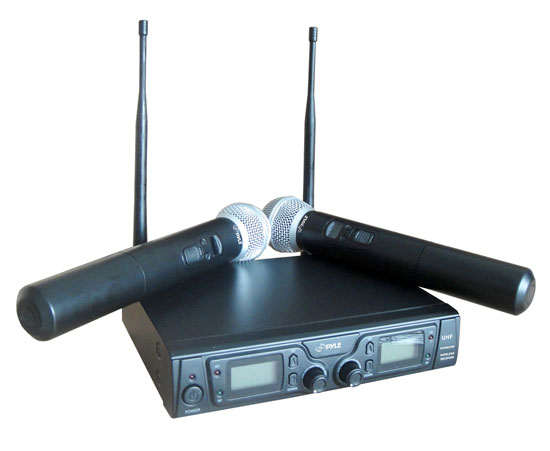 PYLE-PRO PDWM3360 UHF WIRELESS MICROPHONE SYSTEM