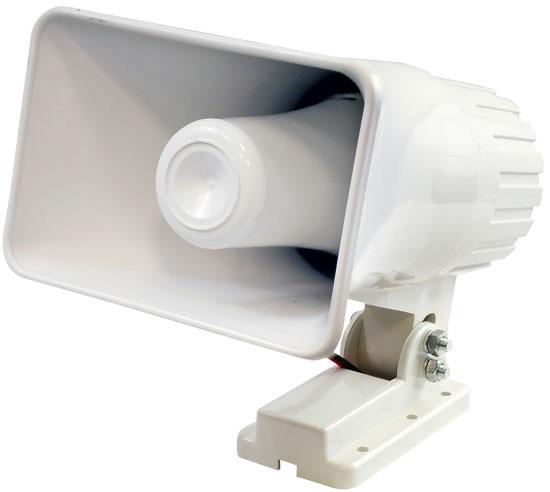 Pyle PHSP4 6-Inch Indoor / Outdoor 50 Watts PA Horn Speaker With Bracket Mount