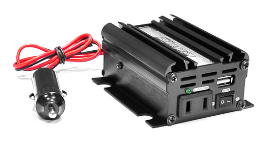 12v 0.3 Amp 120v 200 Watts Car No Load Consumption USB Power Inverter