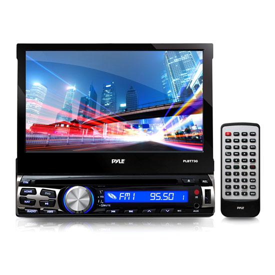 "PYLE PLBT73G 7"" DVD INDASH GPS  RECEIVER BLUETOOTH"