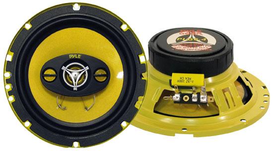 Pyle PLG6.4 6.5'' 300 Watt Four-Way Speakers