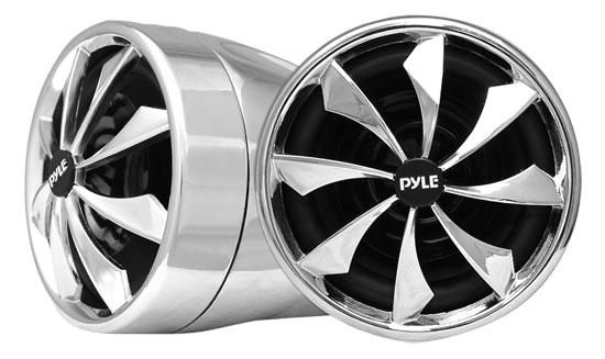 """Pyle PLMCS92 Motorcycle ATV Snowmobile Marine WaterProof 3"""" Speakers 800w Pair"""