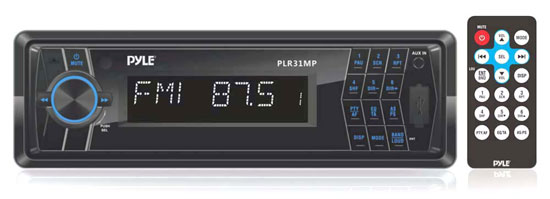 PYLE PLR31MP AM/FM MPX PLL TURNING RADIO