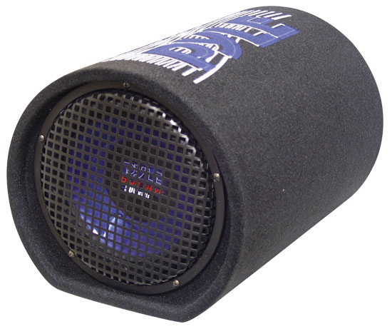 Pyle PLTB8 8'' 400 Watt Carpeted Subwoofer Tube Enclosure System