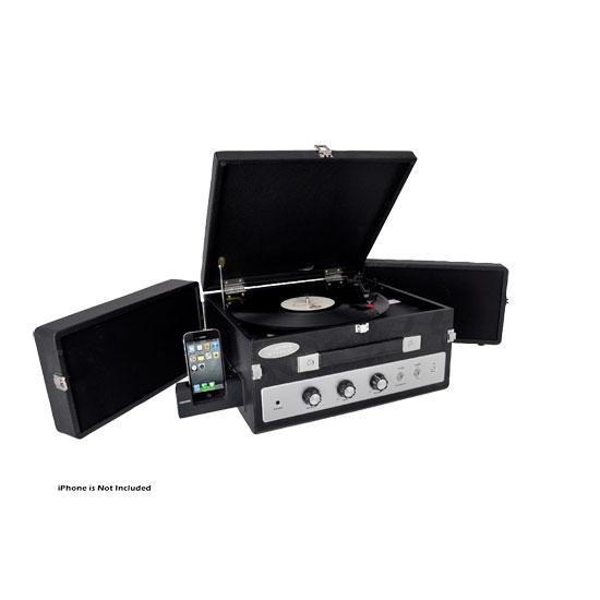 Pyle-Home PLTTB8UI Classic Turntable,Pc Encoding, Ipod Play