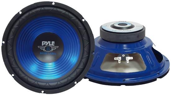 Pyle PLW10BL 10'' 600w Car Van Sub Bass Box SPL Subwoofer Sub Driver