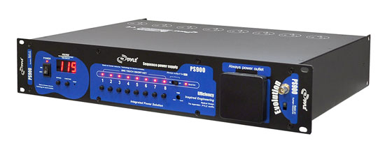 PYLE-PRO PS900 POWER SEQUNCER/ POWER STRIP
