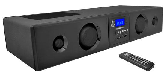 Pyle-Home PSBV200BT Soundbar With Bluetooth Usb/Sd/Fm Radio 300w With Remote