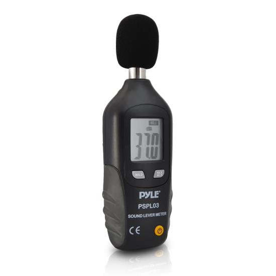 Pyle-Meters PSPL03 Mini Sound Level Meter with A Frequency Weighting Decebel dB