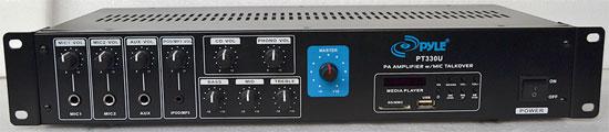 Pyle PT330U 150-Watt Power Amplifier with 70V Output