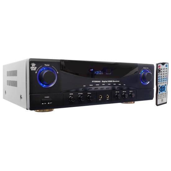 PyleHome PT590AU 5.1 Channel 350W Built In AM/FM Radio/USB/SD Card HDMI