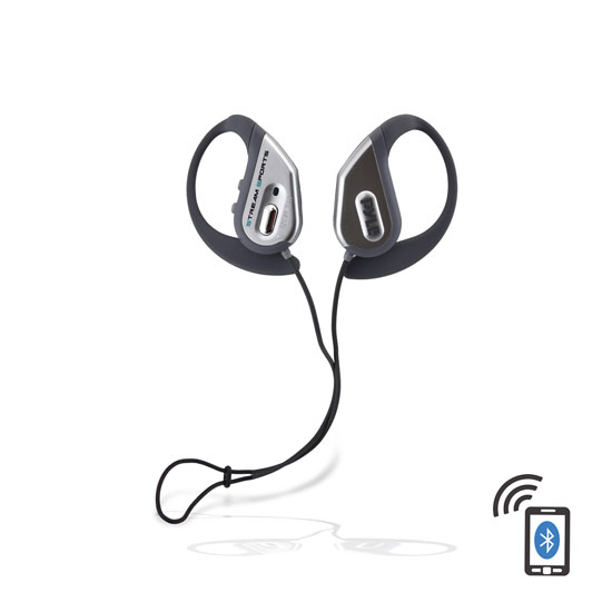 Pyle PWBH18SL Water Resistant Bluetooth Streaming Wireless Headphones with Built