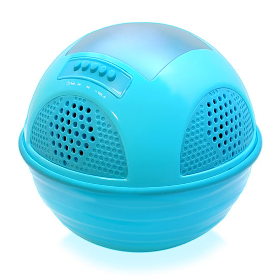 PWR95SBL Pyle Aqua SunBlast Floating Bluetooth Waterproof Pool Rechargable