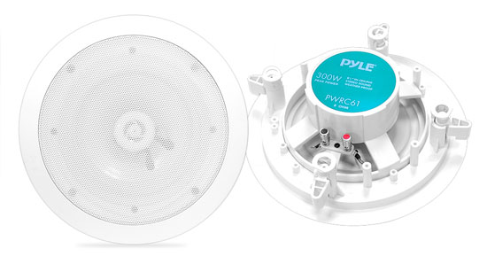 Pyle-Home PWRC61 6.5'' 2-Way In ceiling Stereo Speaker Weather Proof