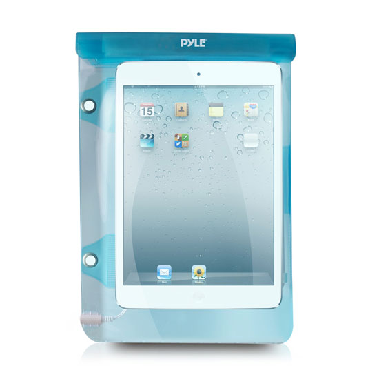 Pyle PWSIC25 Waterproof Pouch Case Shower] Keeps Dry iPads/iPhones/Smartphone