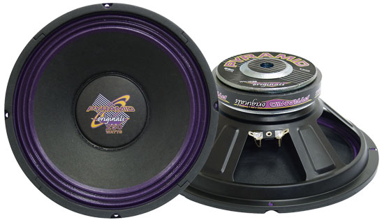 Pyramid WH1038 10'' 300 Watt High Power Paper Cone 8 Ohm Subwoofer