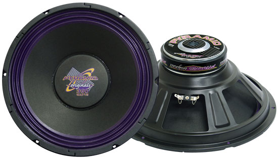 Pyramid WH1238 12'' 400 Watt High Power Paper Cone 8 Ohm Subwoofer