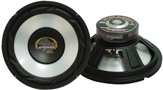 Pyramid WX85X 8'' 300w High Power White Injected P.P. Cone Woofer Sub Midbass