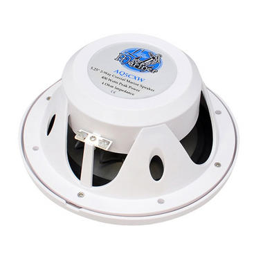 "Lanzar WaterProof Outdoor Boat Patio Marine 5.25"" In Wall Cabin Deck Speakers Thumbnail 4"