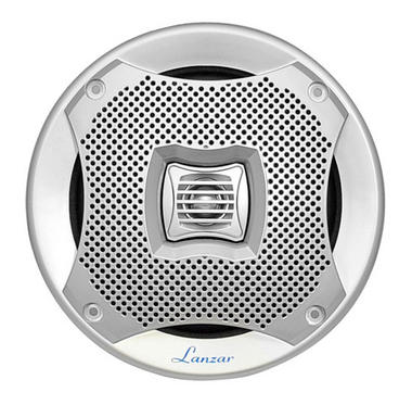 "Lanzar AQ6CXS WaterProof 400W 6.5"" Inch 2 Way Marine Boat In Wall Cabin Speakers Thumbnail 3"