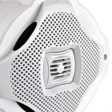 "Lanzar WaterProof Monster 500w Marine White Boat Wakeboard Tower Speaker 6.5"" Thumbnail 5"