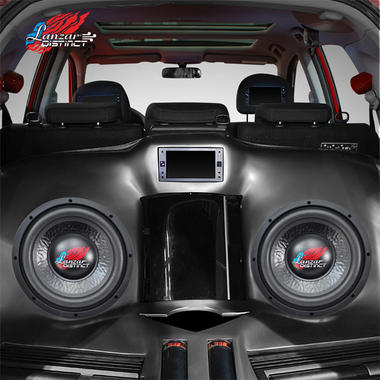 "Lanzar Distinct DVC 4 Ohm 10"" 1000w Compact Car Subwoofer Sub Woofer Bass Driver Thumbnail 6"