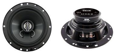 "Lanzar MAX 6.5"" 16.5cm 17cm 180w Coaxial Two Way Pair Car Door Shelf Speakers Thumbnail 1"