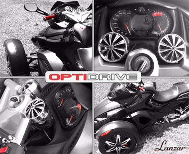 Lanzar OPTIMC91BT Bluetooth Motorcycle Speaker Kit Thumbnail 4