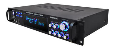 Pyle P2001AT 2000W Hybrid Pre Amplifier with AM/FM Tuner Thumbnail 4