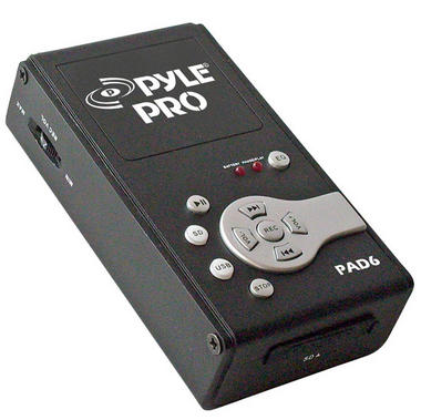 Pyle PAD6 USB Audio Interface & Analog Sound Recording Recorder SD Portable Thumbnail 1