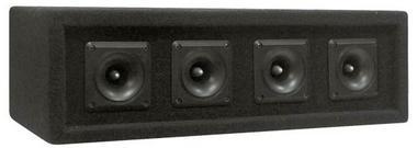 Pyle PAHT4 300w 4 Way DJ PA Party Disco Tweeters Passive Speaker Cabinet Thumbnail 1