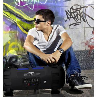 Pyle Street Blaster PBMSPG100 Rugged and Portable Bluetooth Wireless BoomBox Thumbnail 8
