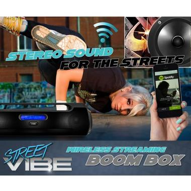 PYLE-HOME PBMSPG50 BLUETOOTH PORTABLE BOOM BOX SPEAKER SYST Thumbnail 8