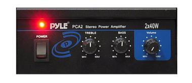 Pyle-Home PCA2 Pyle Mini Computer Stereo Power Amp 80w Thumbnail 3