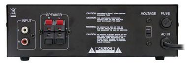 Pyle-Home PCA4 Mini 2x120 Watt Stereo Power Amplifier Thumbnail 3