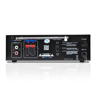 Pyle PCAU48BT 2 x 120W Bluetooth Stereo Power Amplifier USB/SD AUX & Remote Thumbnail 5