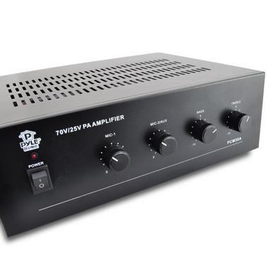 Pyle-Home PCM30A 60 Watt Power Amplifier w/ 25 & 70 Volt Output Thumbnail 4