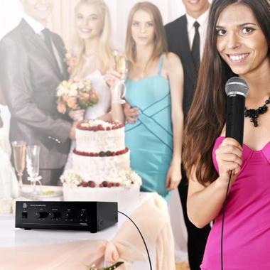 Pyle-Home PCM30A 60 Watt Power Amplifier w/ 25 & 70 Volt Output Thumbnail 6