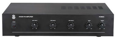 Pyle-Home PCM60A 100 Watt Power Amplifier w/ 25 & 70 Volt Output Thumbnail 1