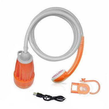 Pyle 12v 6 Feet Handheld Hook Suction Cup Portable Shower Wash System Thumbnail 5