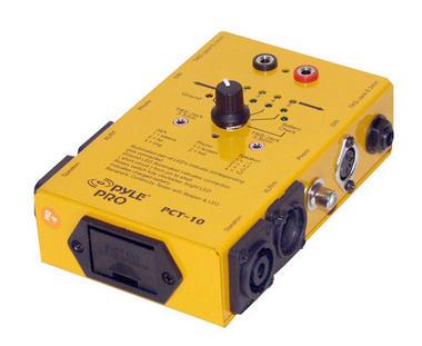 Pyle-Pro PCT10 8 Plug Pro Audio Cable Tester Thumbnail 1