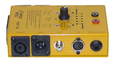 Pyle-Pro PCT10 8 Plug Pro Audio Cable Tester Thumbnail 4