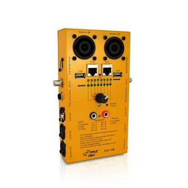 Pyle-Pro PCT40 12 Plug Pro Audio Cable Tester Thumbnail 1
