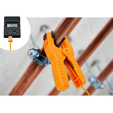 Pyle PCTL01 Thermometer Temp Temperature Replacement Pipe Clamp and Lead Only Thumbnail 4