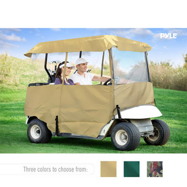 PYLE PCVGCE36 DELUXE 4-SIDE GOLF CART ENCLOSURE, 2 PAS Thumbnail 7